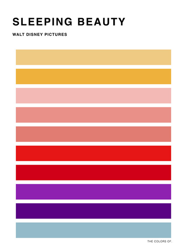 Animation Colour Schemes