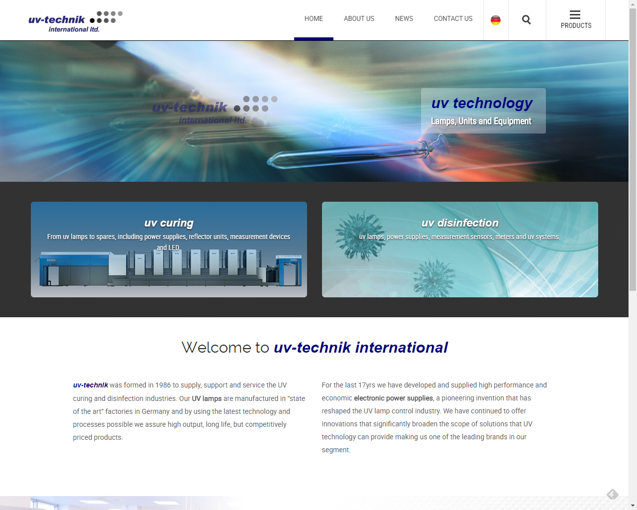 UV-Technik-home-page