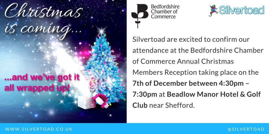 Come And Meet Silvertoad At The Christmas Members Reception!
