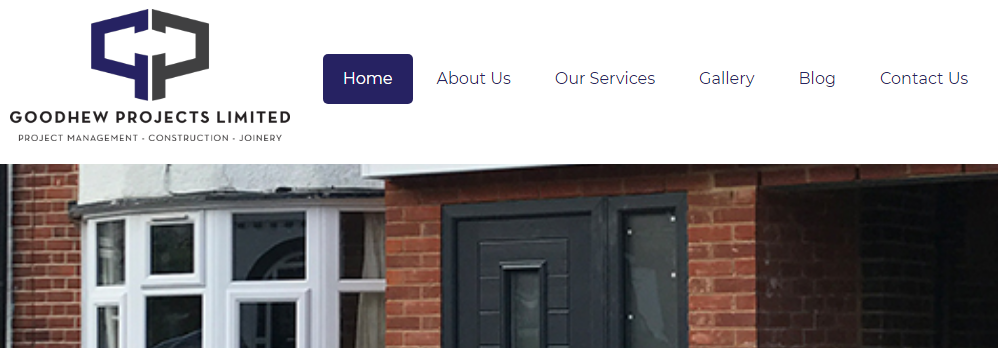 Goodhew Projects New Look And Feel Designed By Silvertoad!