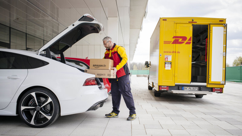 Amazon Plans To Deliver Packages To Your Car Boot!