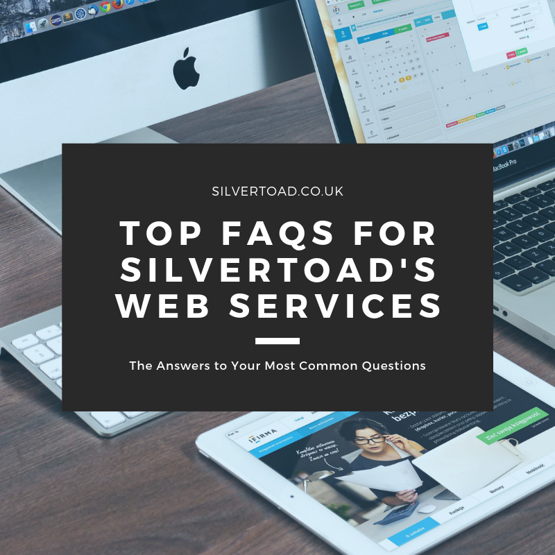 Top FAQ's for our Web Services
